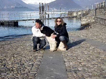 Amelìe con Sabrina e Tiziano (Varese)