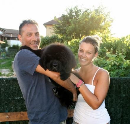 Rafa con Giulio e Claudia