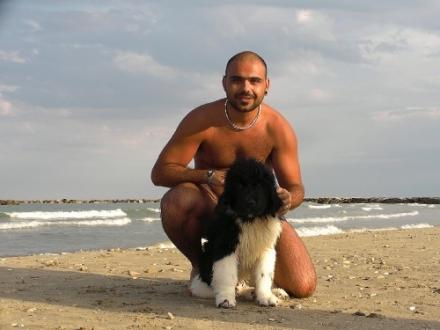Stefano con Kiro